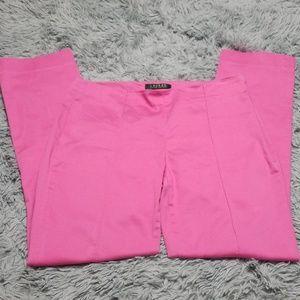 Ralph Lauren womens pink slacks